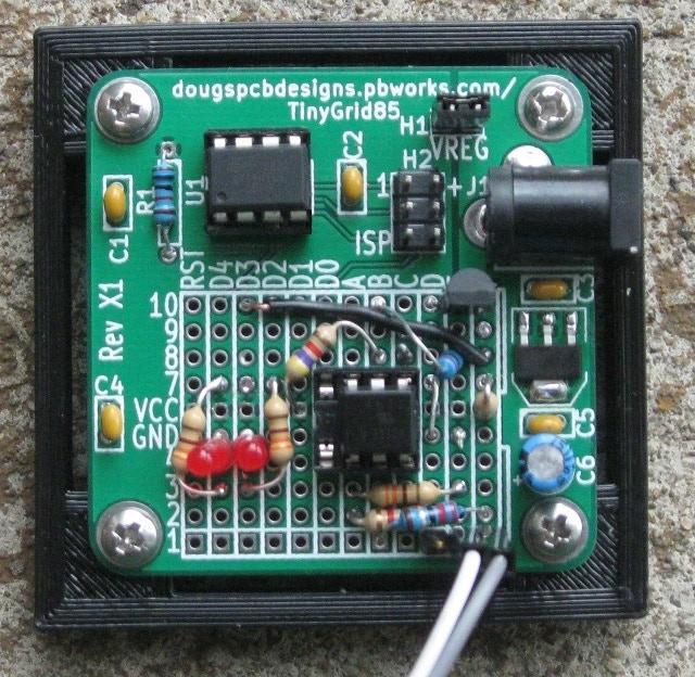 TinyGrid85 configured as TinyOptoProbe