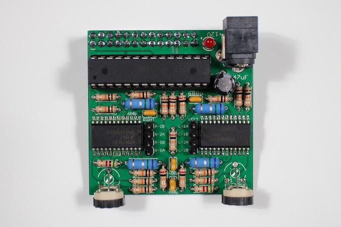 gocupi base board - assembled -