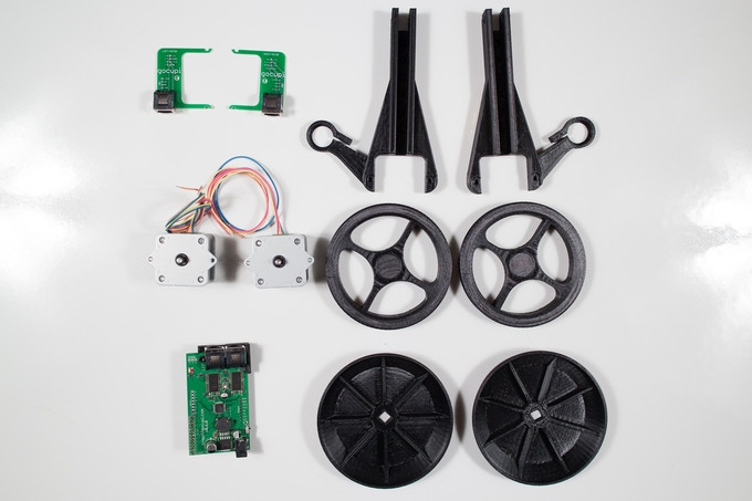 gocupi kit (some included parts not shown here) - included @ $250