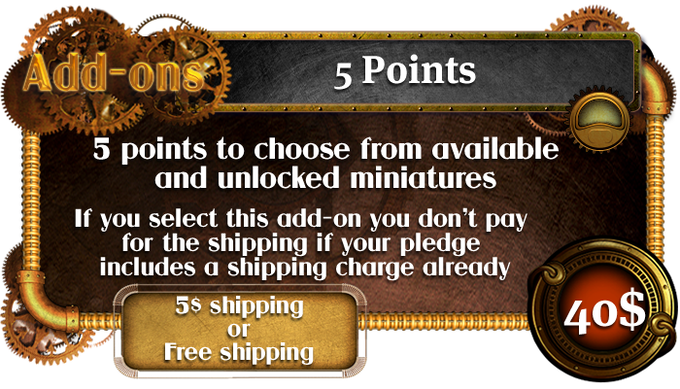 Add-ons 5 Points