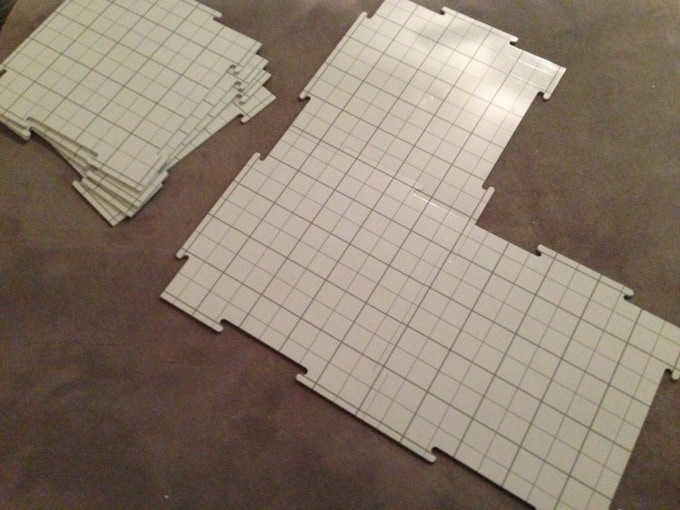 Each Tile Measures 10 5 X10 X 125 And Weighs About 9 Oz Unlike The Original Tact Tiles New Design Is Both Dry Wet Erase