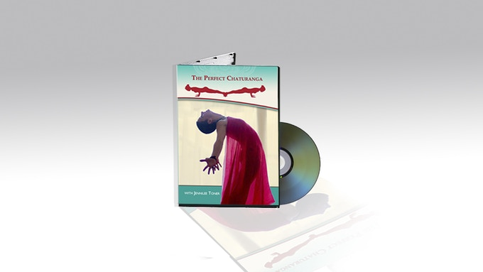 The Perfect Chaturanga DVD includes both studio and LIVE versions of workshop and flow classes!