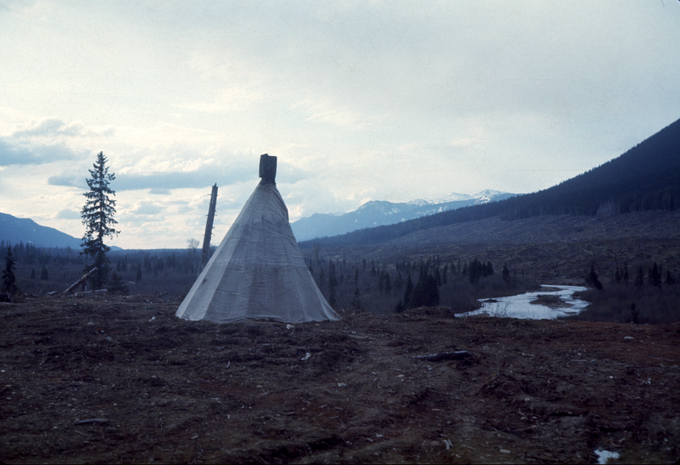 The teepee I was born in