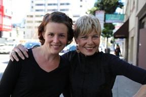Sheona & Candice in San Francisco