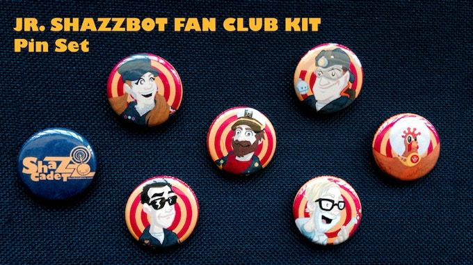 ShazzCadet Pin Set!