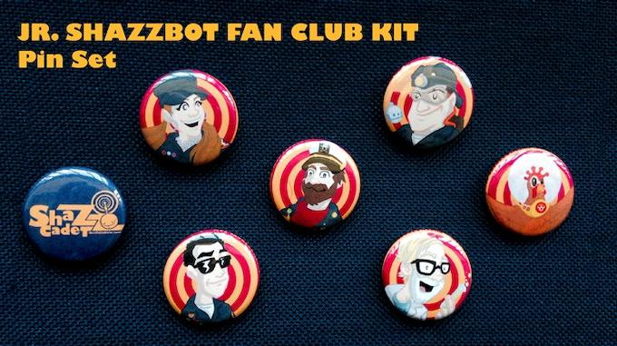 ShazzCadet Pin Set!