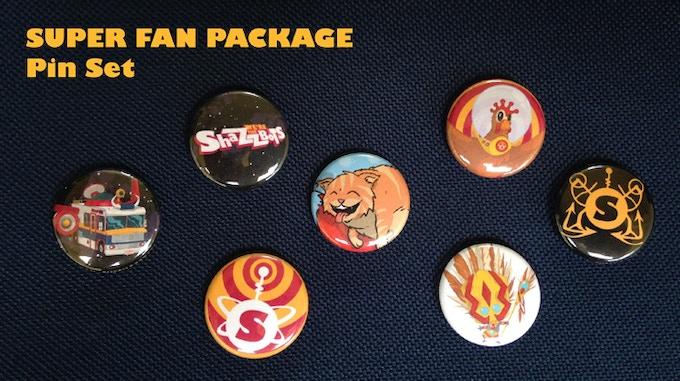 Super Fan Pin Set!