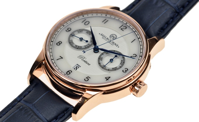 The Portsea with rose gold plating