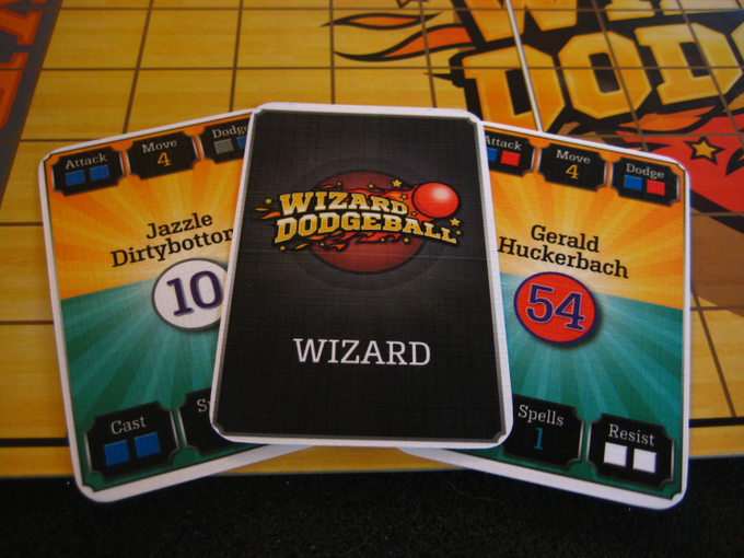 Wizard Cards (prototype components shown)