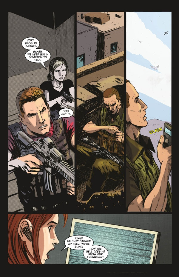Patriot-1: An action-packed original graphic novel by Kevin
