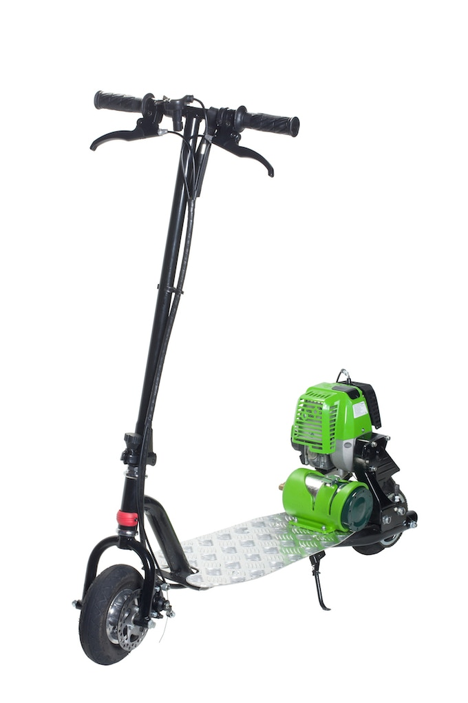 Propane Powered Motor Scooter-Go Clean, Go Green, Go PROGO