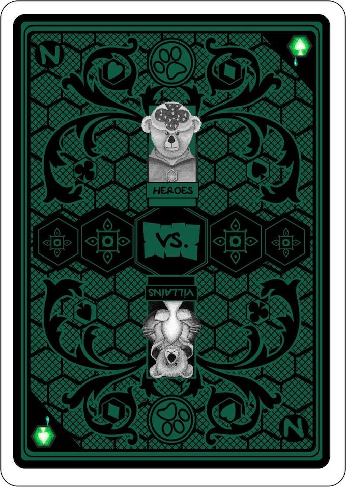 Card Back Design for NEWTROPOLIS & The Fantastic Fur