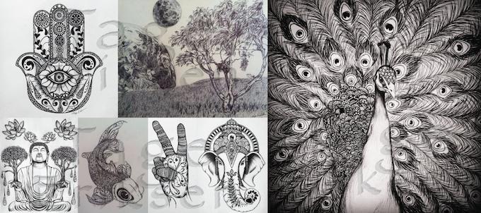 A Sampling of Tage's Artwork