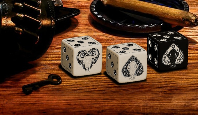 Plugged Nickel Dice (3 versions)