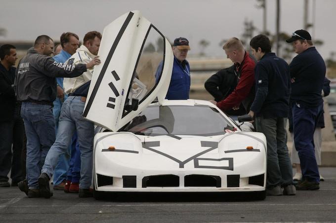 JOSS JT1 test vehicle shake-down at Calder Raceway, Victoria