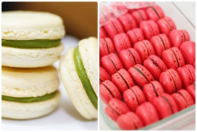 Green Tea and Pistachio Macarons