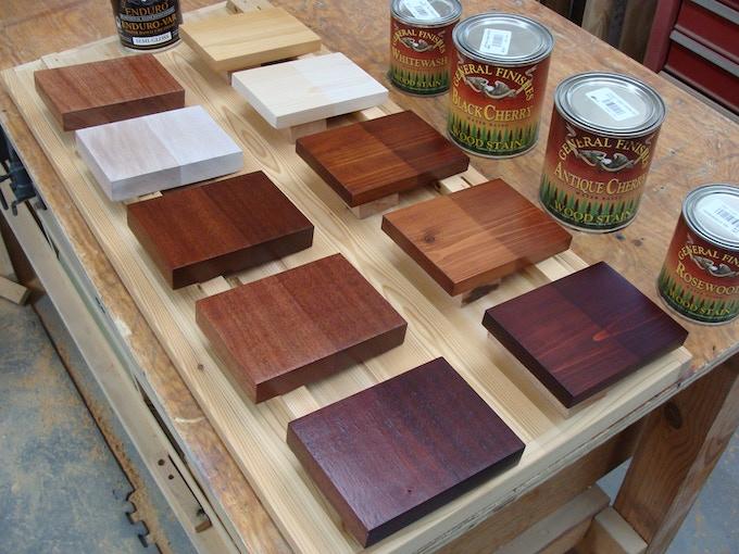 Mahogany and cedar