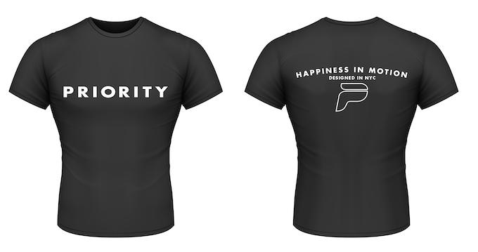 Black Shirt, Men's Sizing