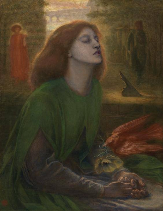 Beata Beatrix c.1864-70 Dante Gabriel Rossetti 1 http://www.tate.org.uk/art/work/N01279 Photo (c) Tate