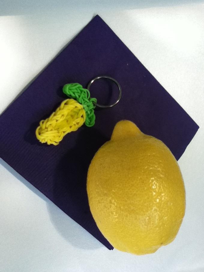 A Very Lemony Lemon Keychain. Get your name printed on a Very Lemony Lemon!