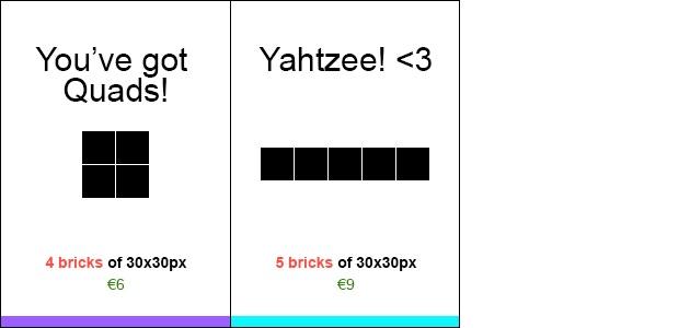 You've got Quads! & Yahtzee! <3