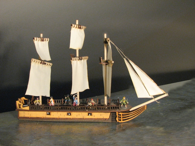 La Belle (with included sails)
