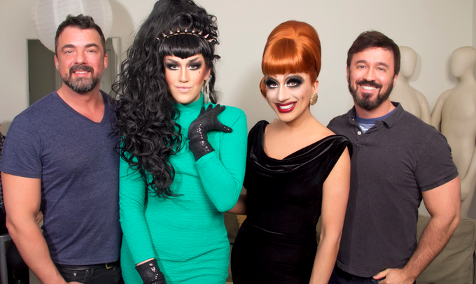 Marc Felion, Adore Delano, Bianca Del Rio and Fausto Fernós. Click here to listen to the podcast.
