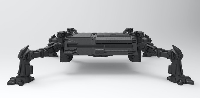 Designed to have greater chassis clearance underneath to store accessories such as the Connect Sensor, controllers, etc. and is fully adjustable.