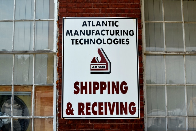 We're working with Atlantic Manufacturing Technologies, a local, family-owned contract manufacturer.