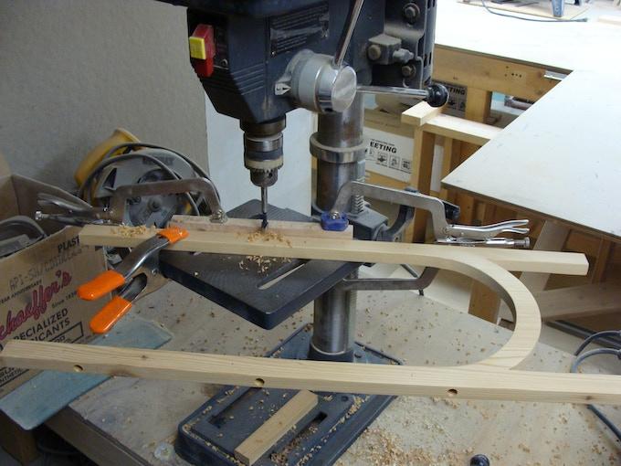 My 'toy' drill press