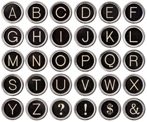 Your choice of letters or symbols.