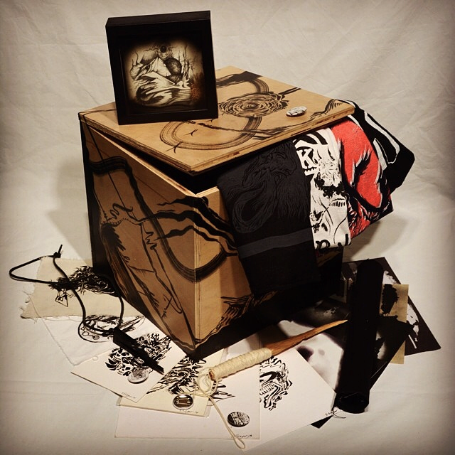 """Art Box"" by Sam Sieger,  take a look into 1sqft of an artists world"