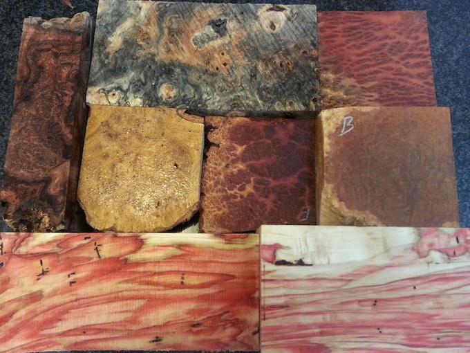 Mesquite, Buckeye, Amboyna, Black Ash, Coolibah, Brown Mallee, and Flame Box Elder.