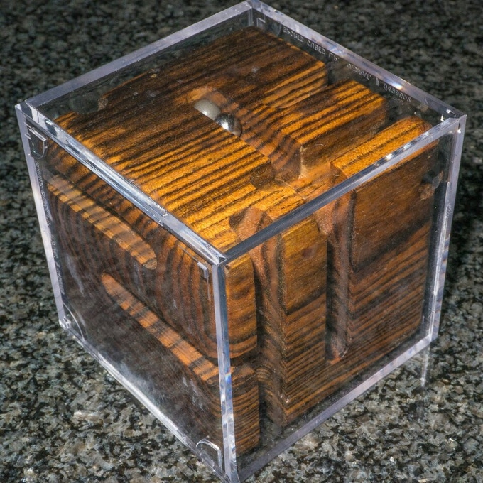 Bocote Revealed Maze Puzzle.