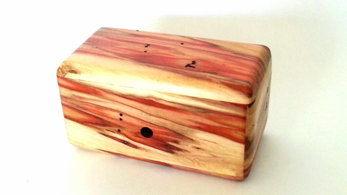 Stretched Maze Puzzle In Flame Box Elder.