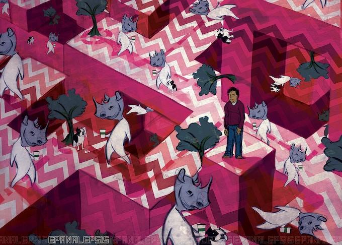 "Kim Parker's ""2010"" postcard"
