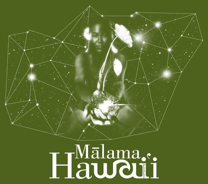 Malama Hawaii in Green.  Original Photo: Darren Miller, Design: Chandler Moss