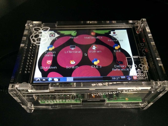 piscreen a 3 5 tft with touchscreen for the raspberry pi by mark williams b case. Black Bedroom Furniture Sets. Home Design Ideas