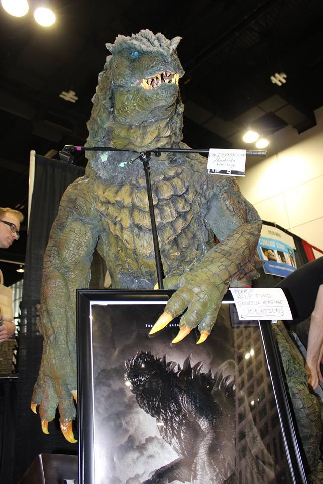 The Godzilla suit at Denver Comic Con. Photo by Christian Kennedy.