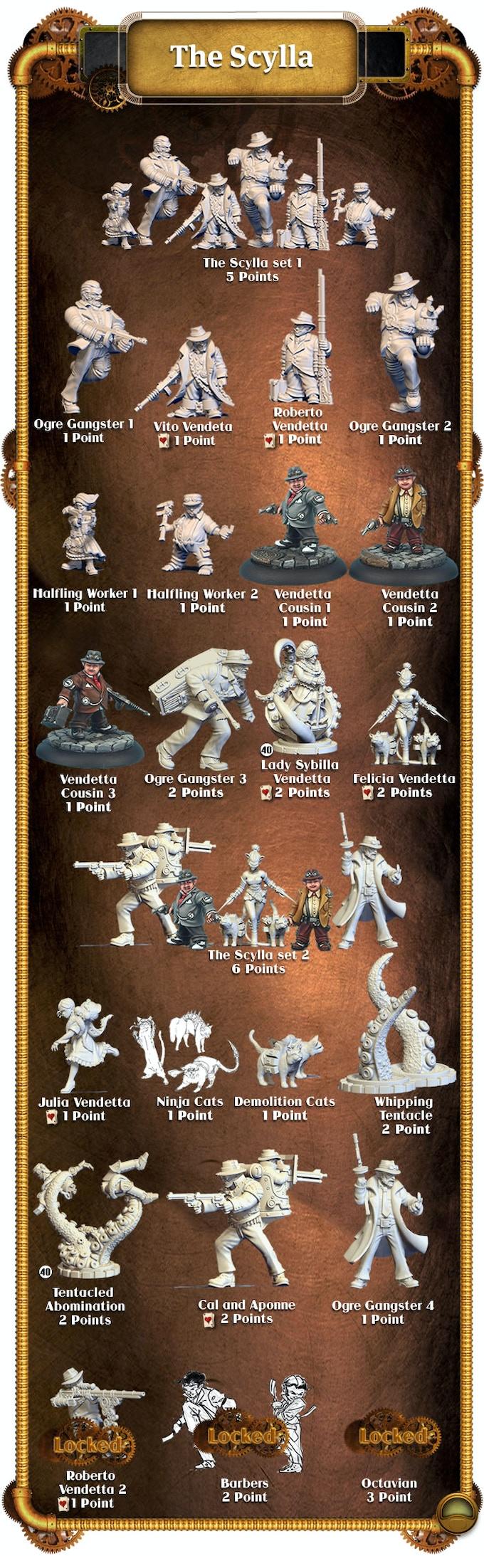 Scylla Miniatures