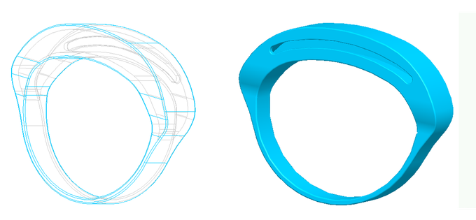 The design of Atomwear rubber mould
