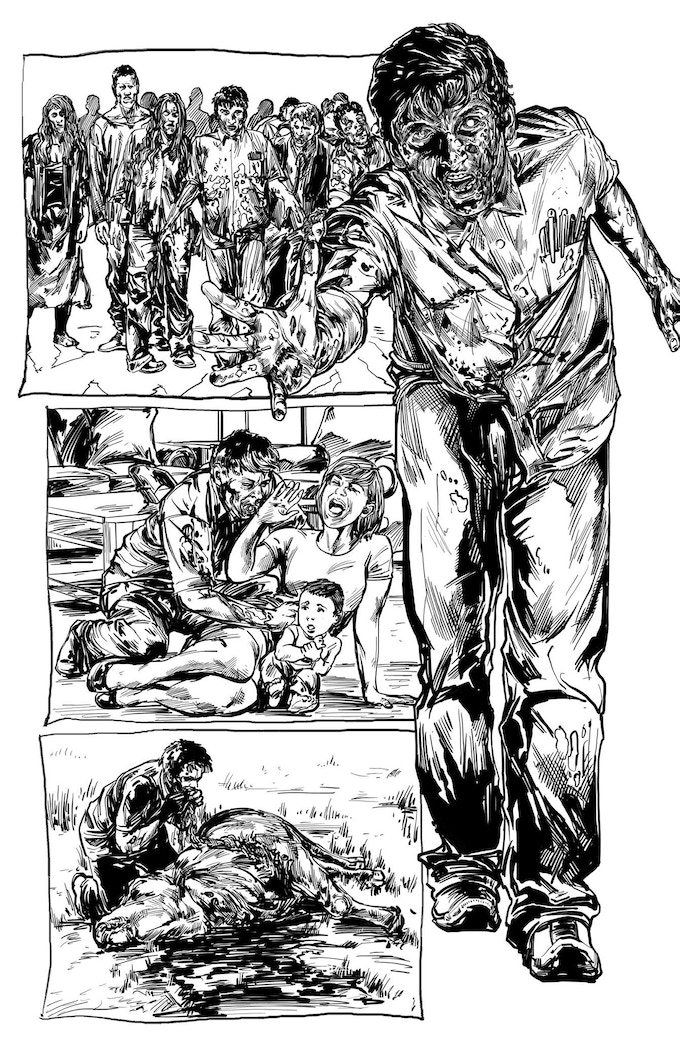 Nino Cajayon delivers us a truly gruesome story in 'Diseased'.