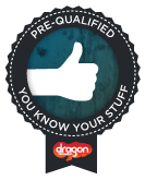 """Dragon Innovation has done a lightweight review of our project and has pre-qualified that we appear to be educated team with a buildable product."""