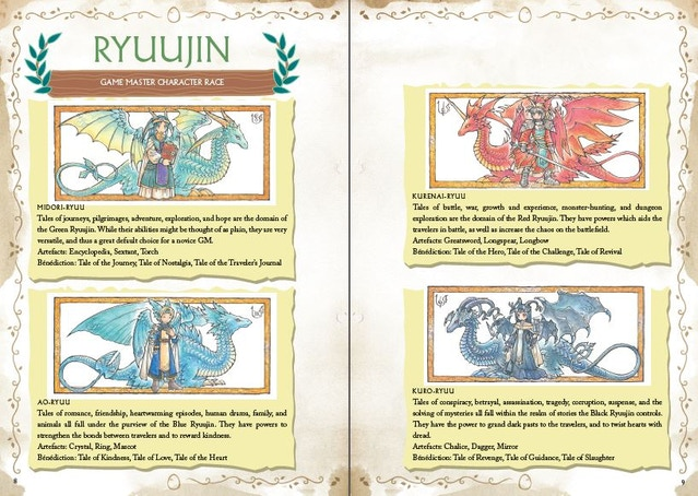 Ryuutama - Natural Fantasy Role-Playing Game by Andy Kitkowski