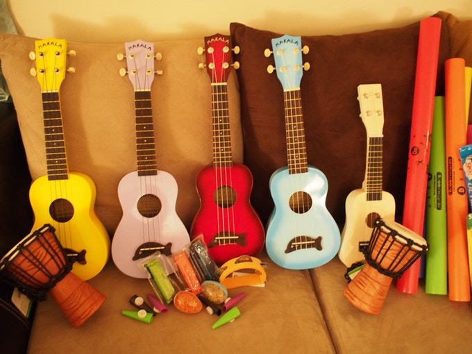 Music Rewards - Ukuleles, Percussion, Harmonicas, and more!