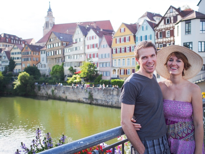 Enjoying a day off in lovely Tübingen, Germany!