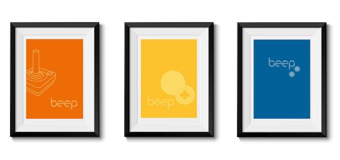 Sample silk-screen poster set