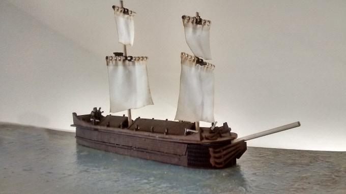 The Jane, merchant ship.