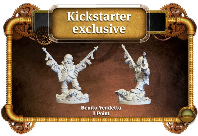 Kickstarter exclusive miniature