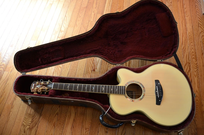 Used but in great shape. Only minor fret wear from years of playing.